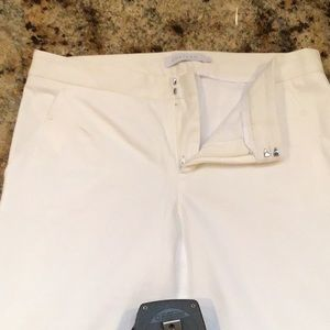 Winter White Lined Pants